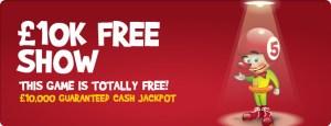 bingola £10,000 Cash Jackpot