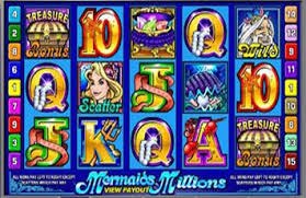 MERMAID MILLIONS SLOT AT GUTS CASINO