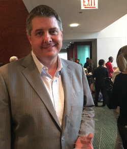 Tim Egan accepts the ALA's 2016 Impact Award