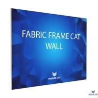 Fabric Frame Cat Wall 50×50 см