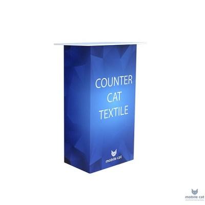 Мобильная промостойка Counter Cat Textile Mobile Cat