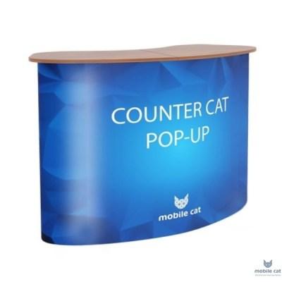 Мобильная промостойка Counter Cat Pop-up 2x2 Mobile Cat