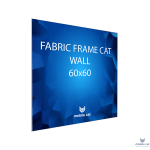 Fabric Frame Cat Wall 60×60 см