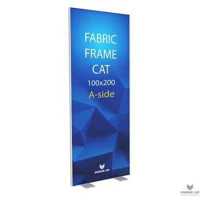 Fabric Frame Cat стенд односторонний Mobile Cat