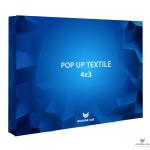 Pop-up Cat Textile стенд 4×3 секции прямой