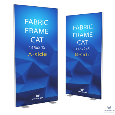 Fabric Frame Cat стенд двухсторонний Mobile Cat