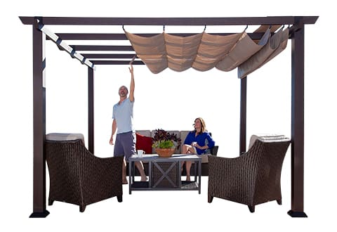 patio covers shade structures costco