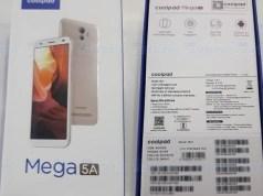 Coolpad Mega 5A