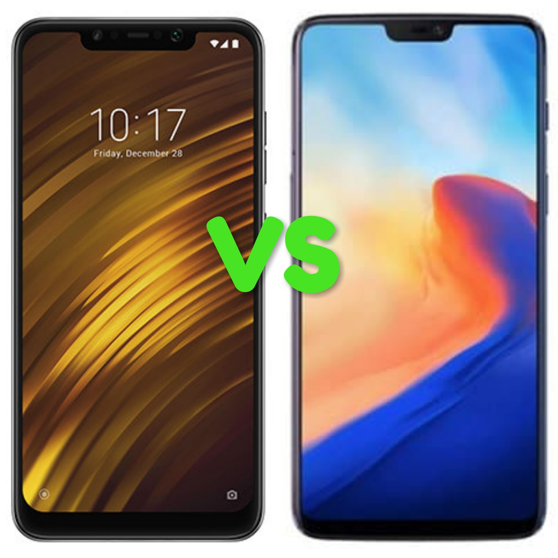 Xiaomi Pocophone F1 Vs Oneplus 6 Which Offers Value For Money By 6gb 64gb