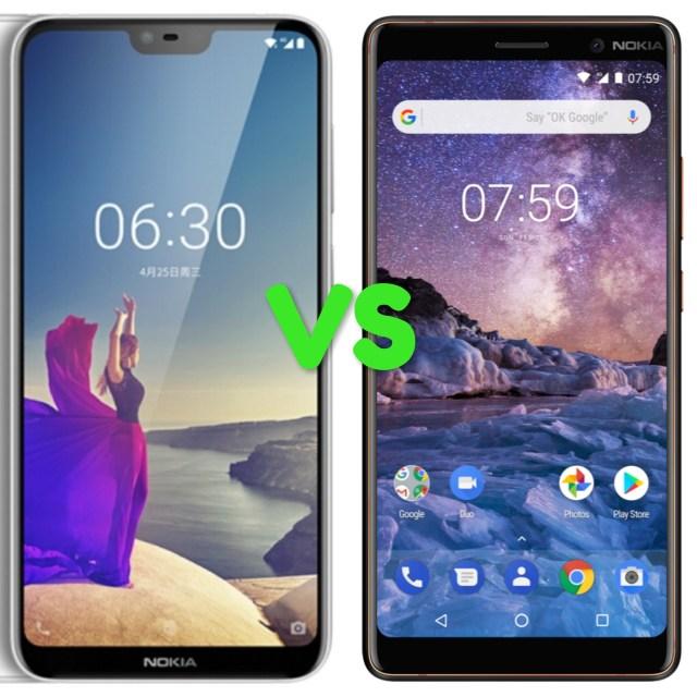 Nokia 6.1 Plus Vs Nokia 7 Plus