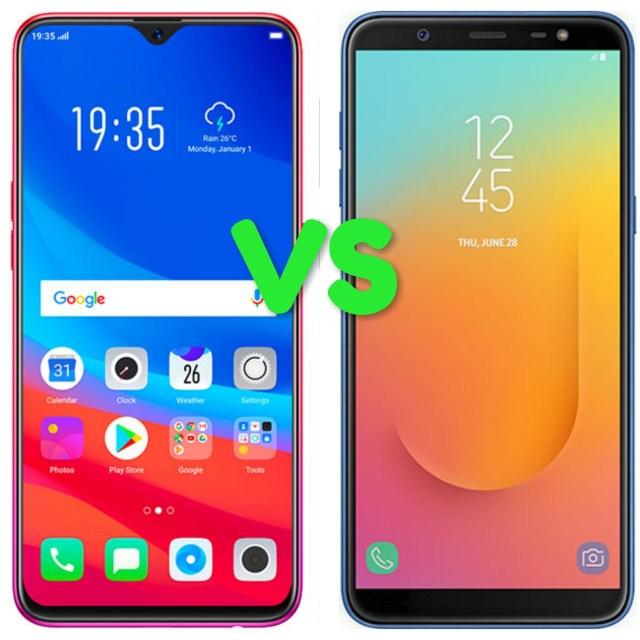 Oppo F9 Vs Samsung J8