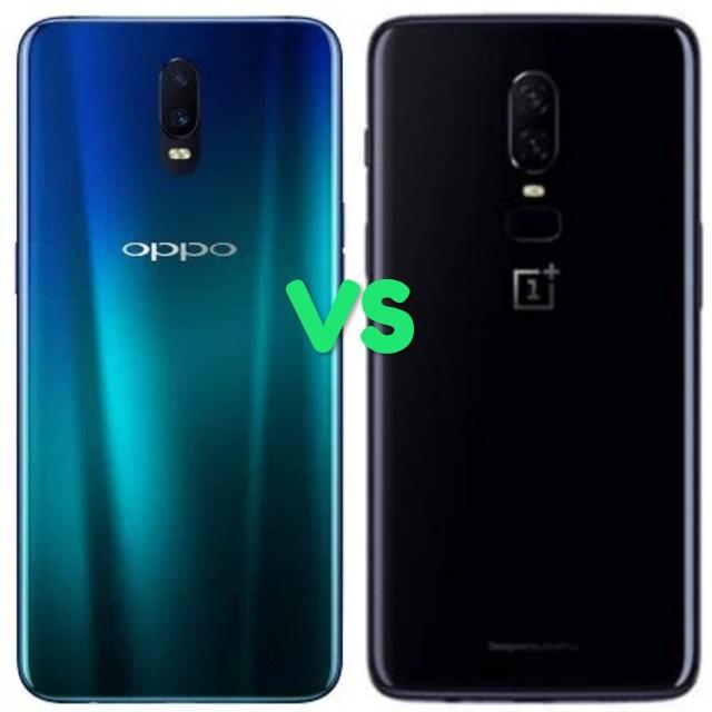 Oppo R17 Vs OnePlus 6