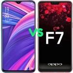 Oppo R17 Vs Oppo F7