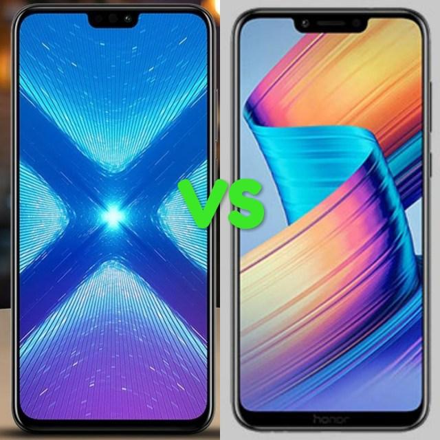 Huawei Honor 8X Vs Honor Play
