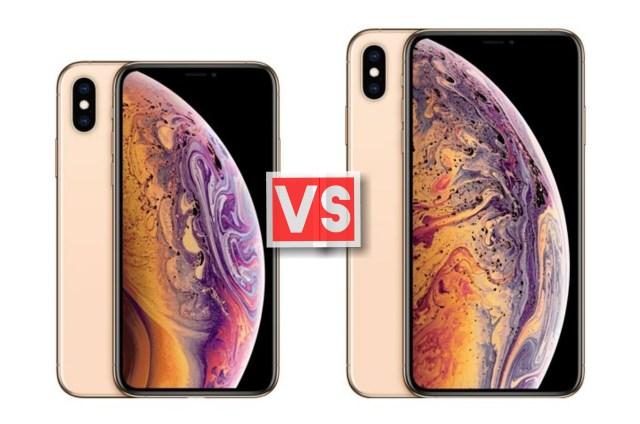 Apple iPhone XS Vs XS Max