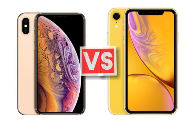 Apple iPhone XS Vs XR