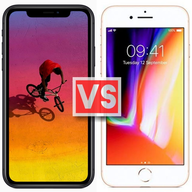 Apple iPhone XR Vs iPhone 8