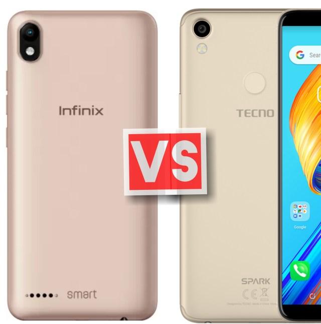 Infinix Smart 2 Vs Tecno Spark 2