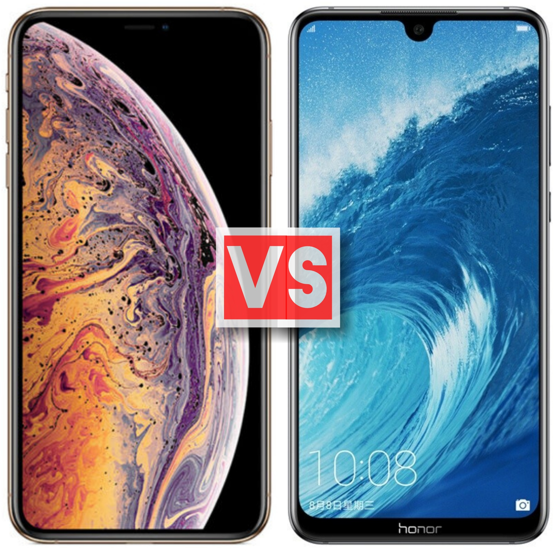 Apple iPhone XS Max Vs Honor 8X Max How Maxed Out Are These Two