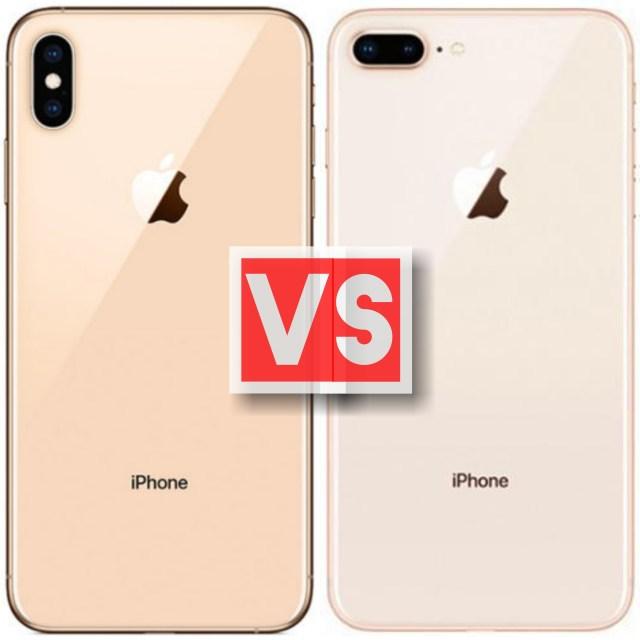 Apple iPhone XS Vs iPhone 8 Plus