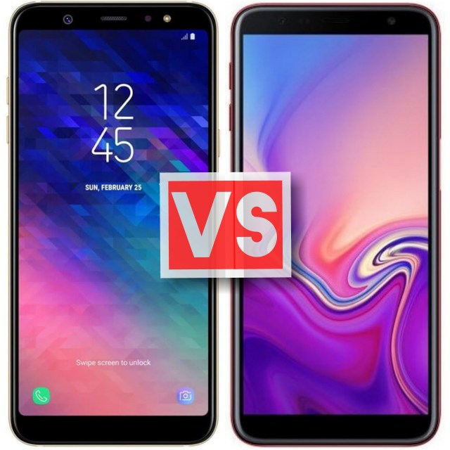 Samsung Galaxy A6 Plus Vs J6 Plus