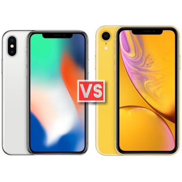 Apple iPhone X Vs XR