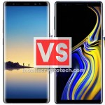 Samsung Galaxy Note 8 Vs Note 9
