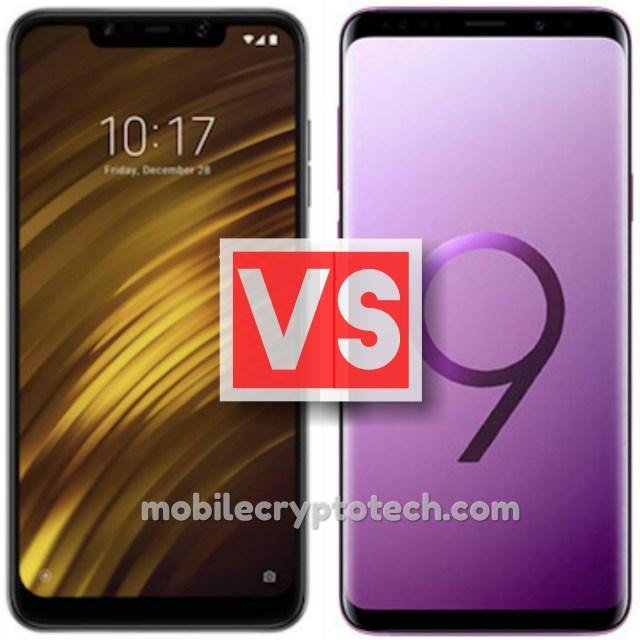 Xiaomi Pocophone F1 Vs Samsung Galaxy S9