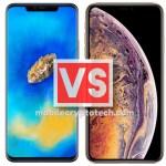 Apple iPhone XS Max Vs Huawei Mate 20 Pro