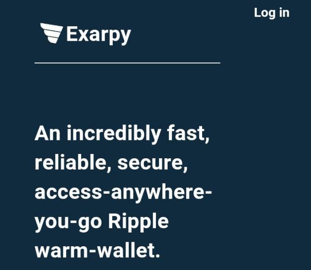 Exarpy Wallet