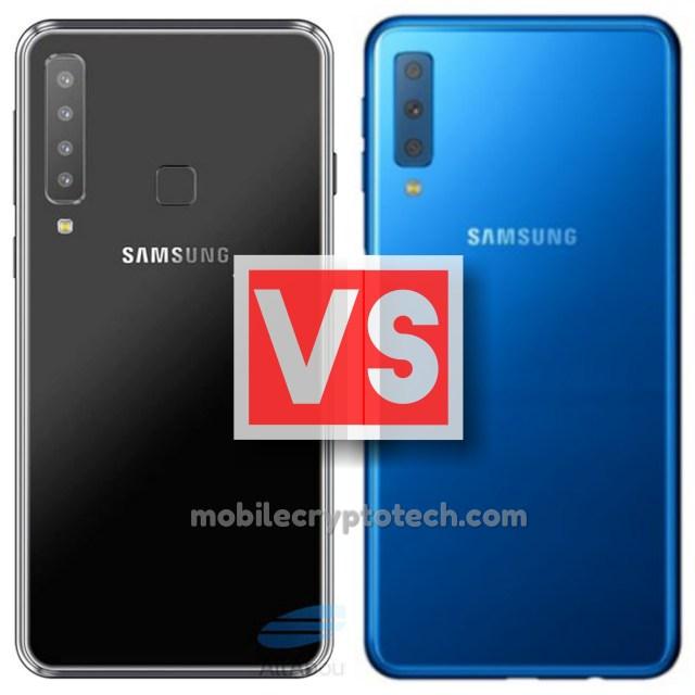 Samsung Galaxy A9 2018 Vs A7 2018