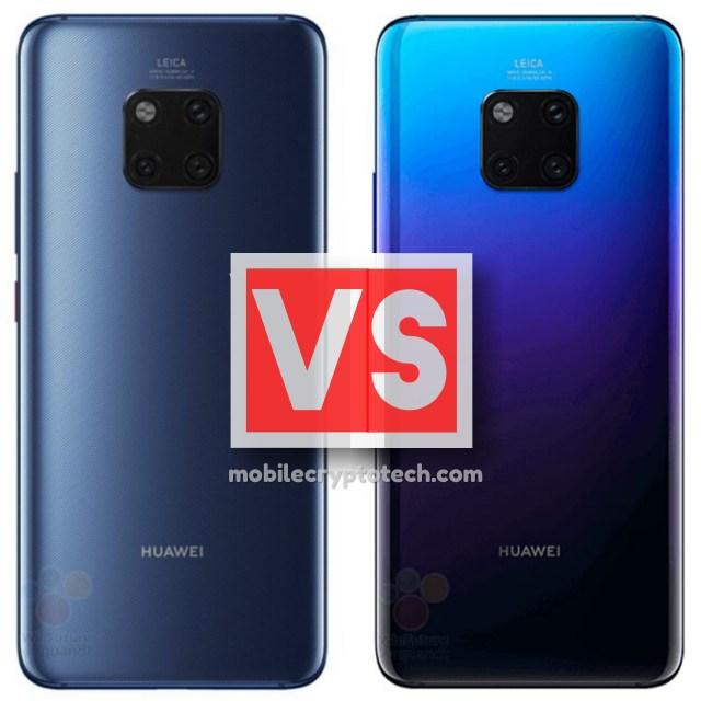 Huawei Mate 20 Vs Mate 20 Pro