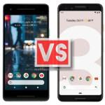 Google Pixel 2 Vs Pixel 3