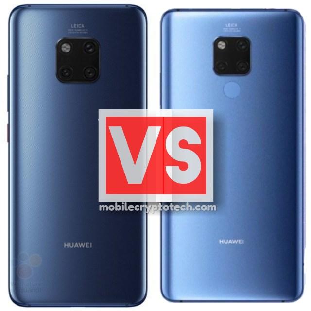 Huawei Mate 20 Vs Mate 20 X