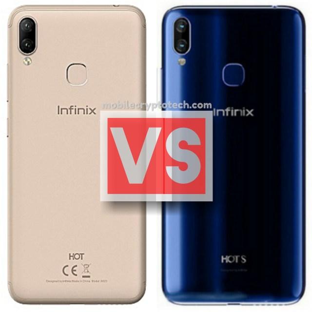 Infinix Hot 6X Vs S3X