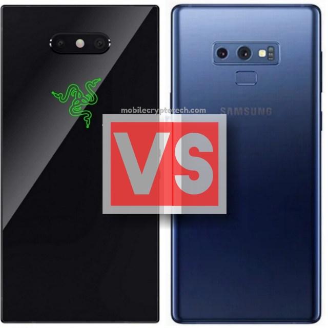 Razer Phone 2 Vs Samsung Galaxy Note 9