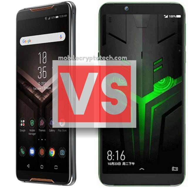 ASUS ROG Phone Vs Xiaomi Black Shark Helo
