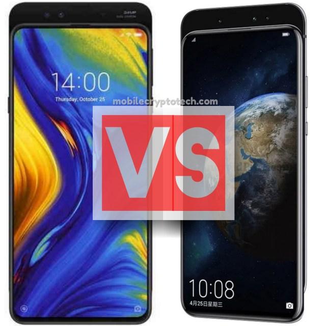 Xiaomi Mi Mix 3 Vs Huawei Honor Magic 2