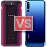Oppo Find X Vs Huawei Honor Magic 2