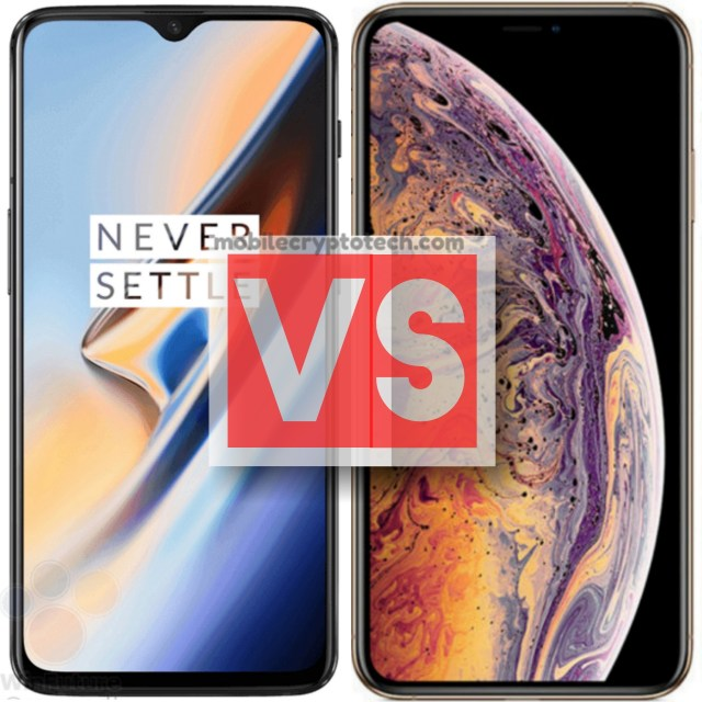 OnePlus 6T Vs Apple iPhone XS Max
