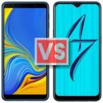 Samsung Galaxy A7 2018 Vs Oppo A7