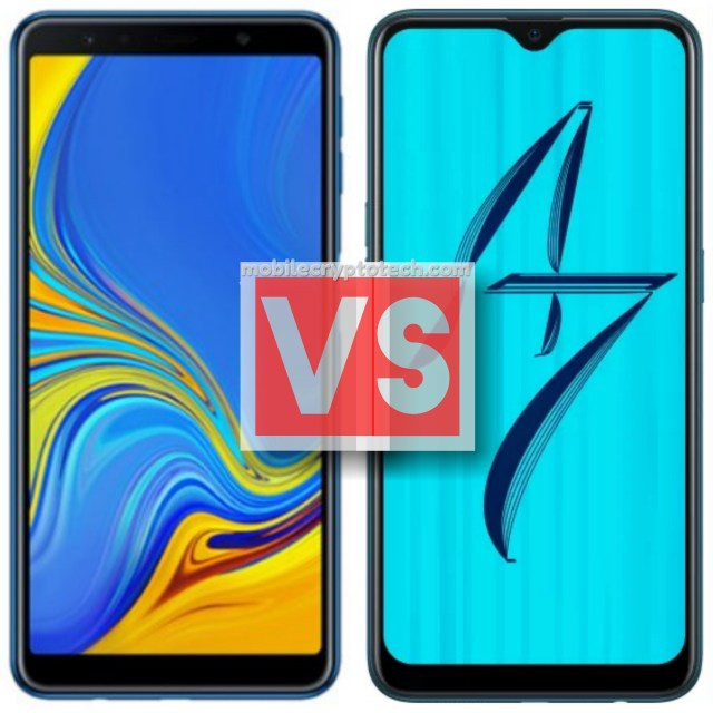 Samsung Galaxy A7 2018 Vs Oppo A7
