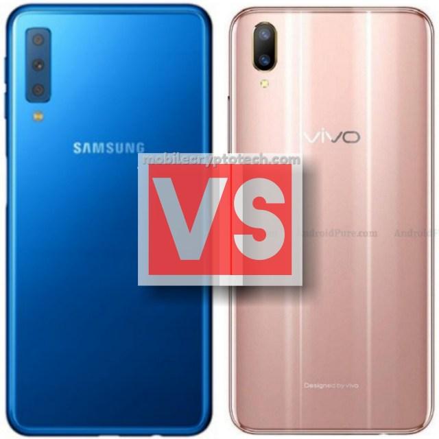Samsung Galaxy A7 2018 Vs Vivo V11 Pro