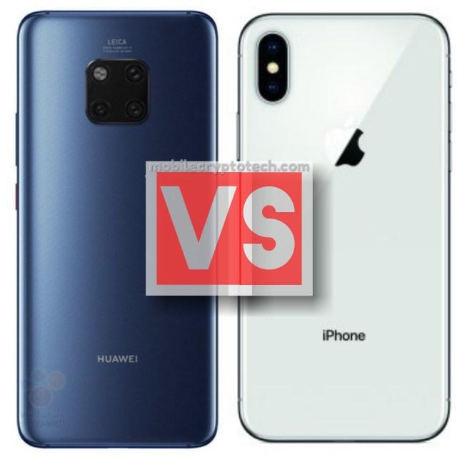 Huawei Mate 20 Pro Vs Apple iPhone X