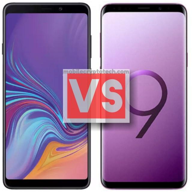 Samsung Galaxy A9 2018 Vs S9