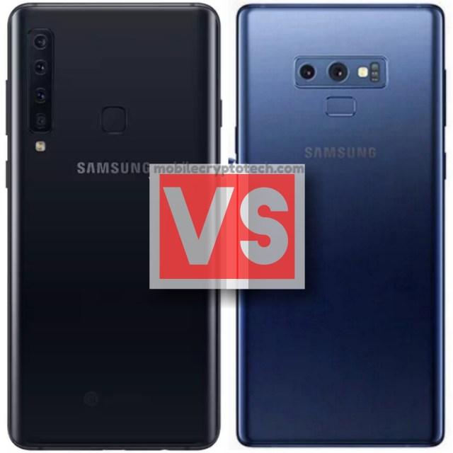 Samsung Galaxy A9 2018 Vs Note 9