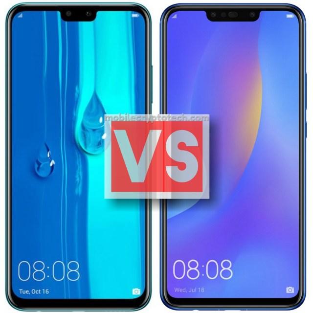 Huawei Y9 2019 Vs Nova 3i