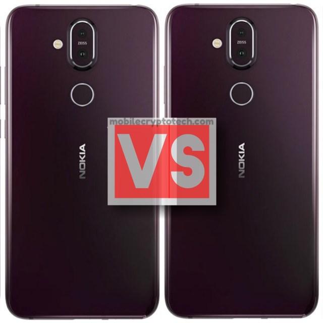 Nokia X7 Vs 8.1