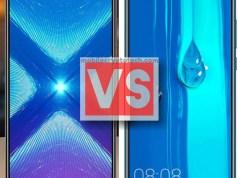 Huawei Honor 8X Vs Y9 2019