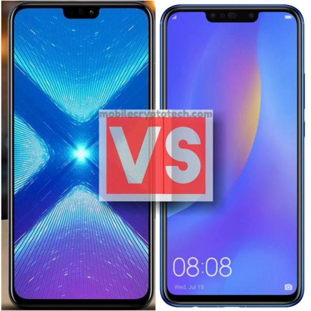 Huawei Honor 8X Vs Nova 3i